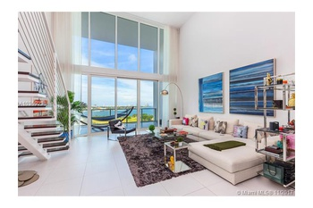 True modern luxury loft living with unmatched views of Biscayne ...