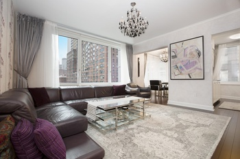 1 Month Free! Fully Furnished 2 Bedroom 2.5 Bathroom Apartment @ The Rushmore, UWS